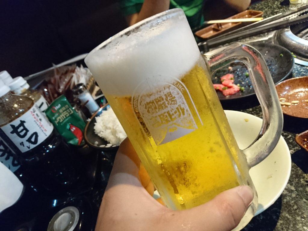 御殿場高原ビール 中ジョッキ