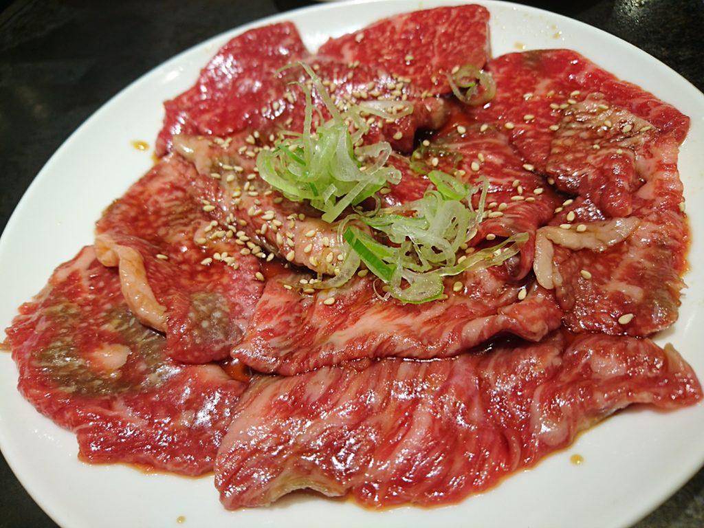 仙川「焼肉ぎゅうぎゅう」ハラミとカルビ