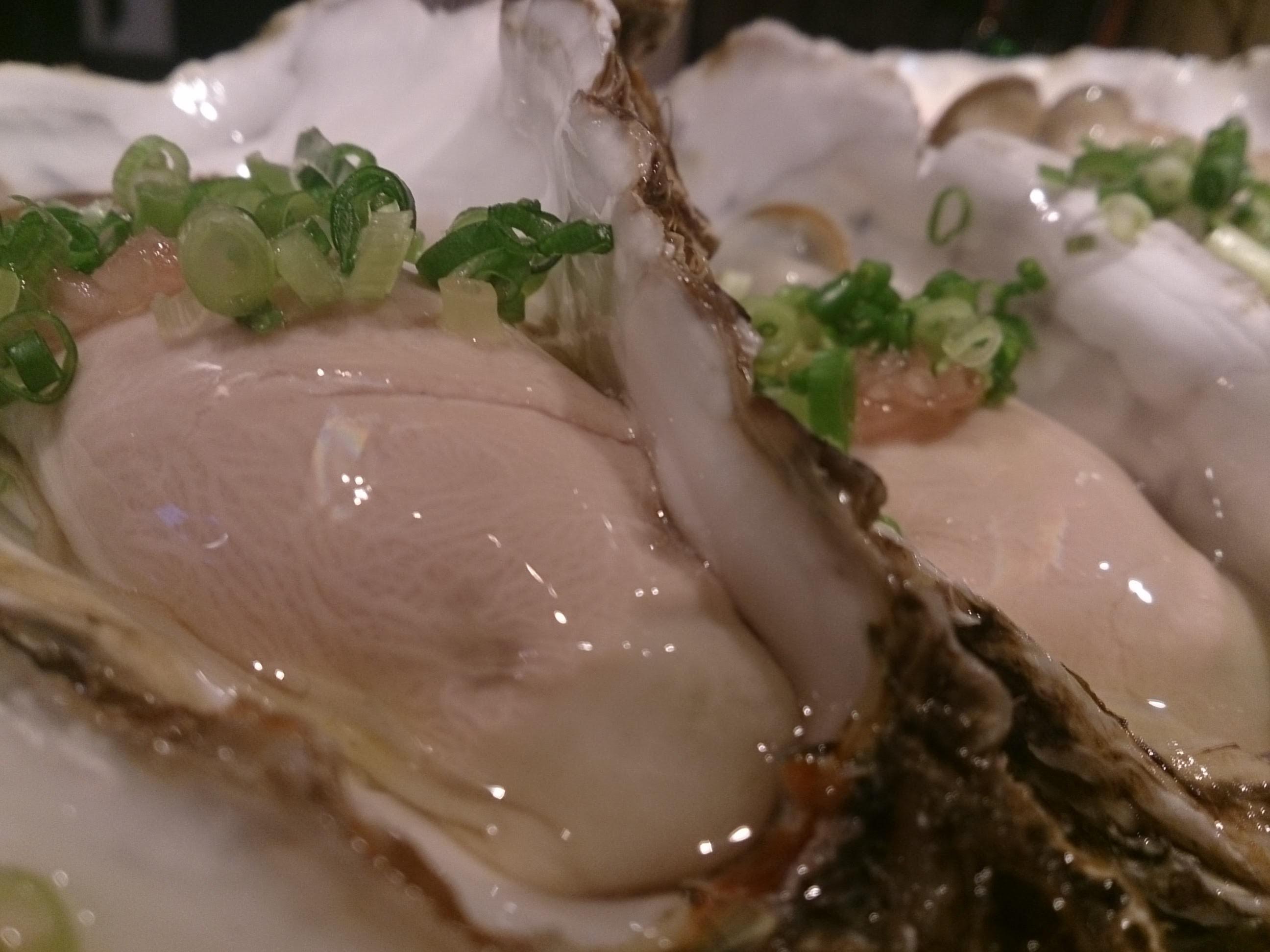 調布「スタボン」生牡蠣