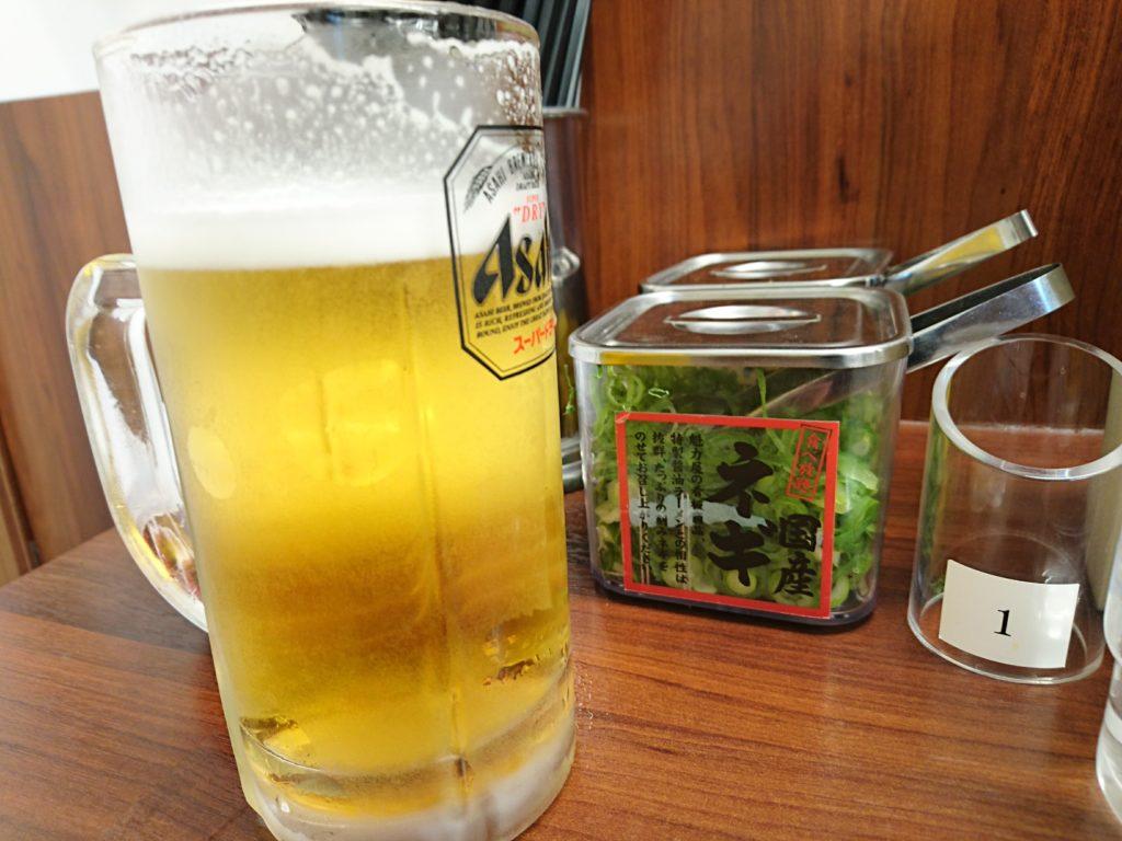 魁力屋 とりあえずビール