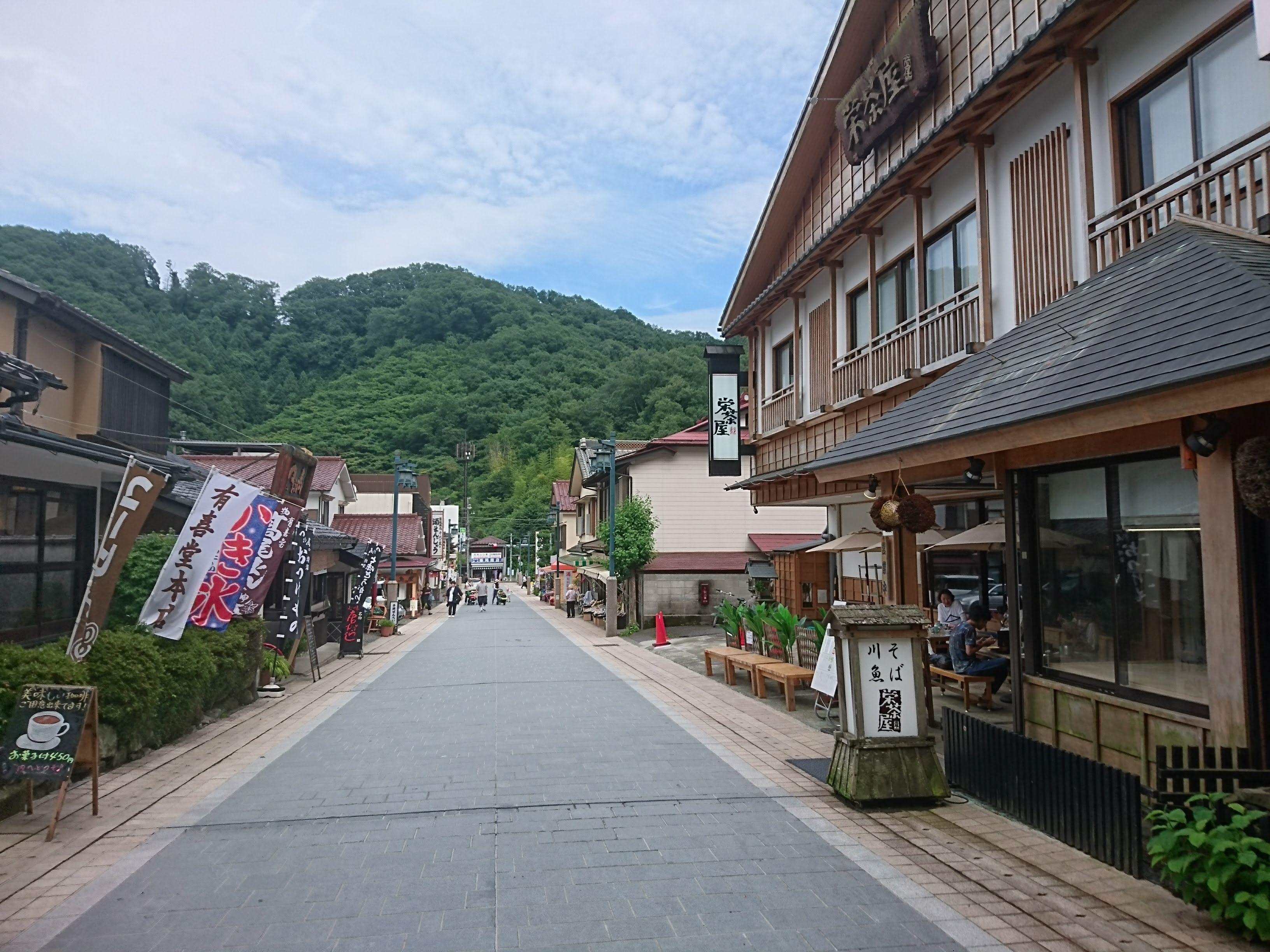 京王線「高尾山」情緒ある商店街