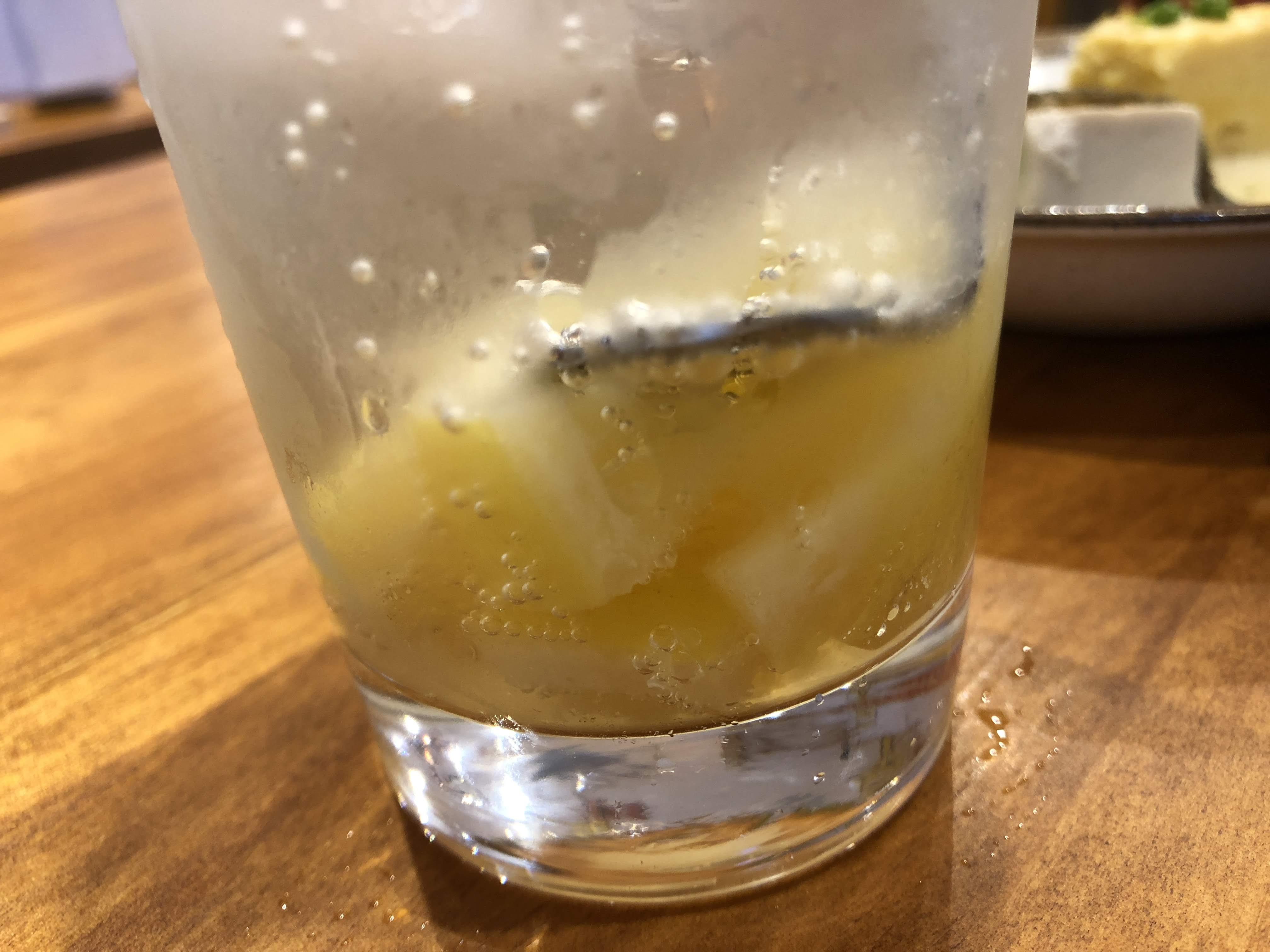 調布「いろ葉」塩レモンサワー
