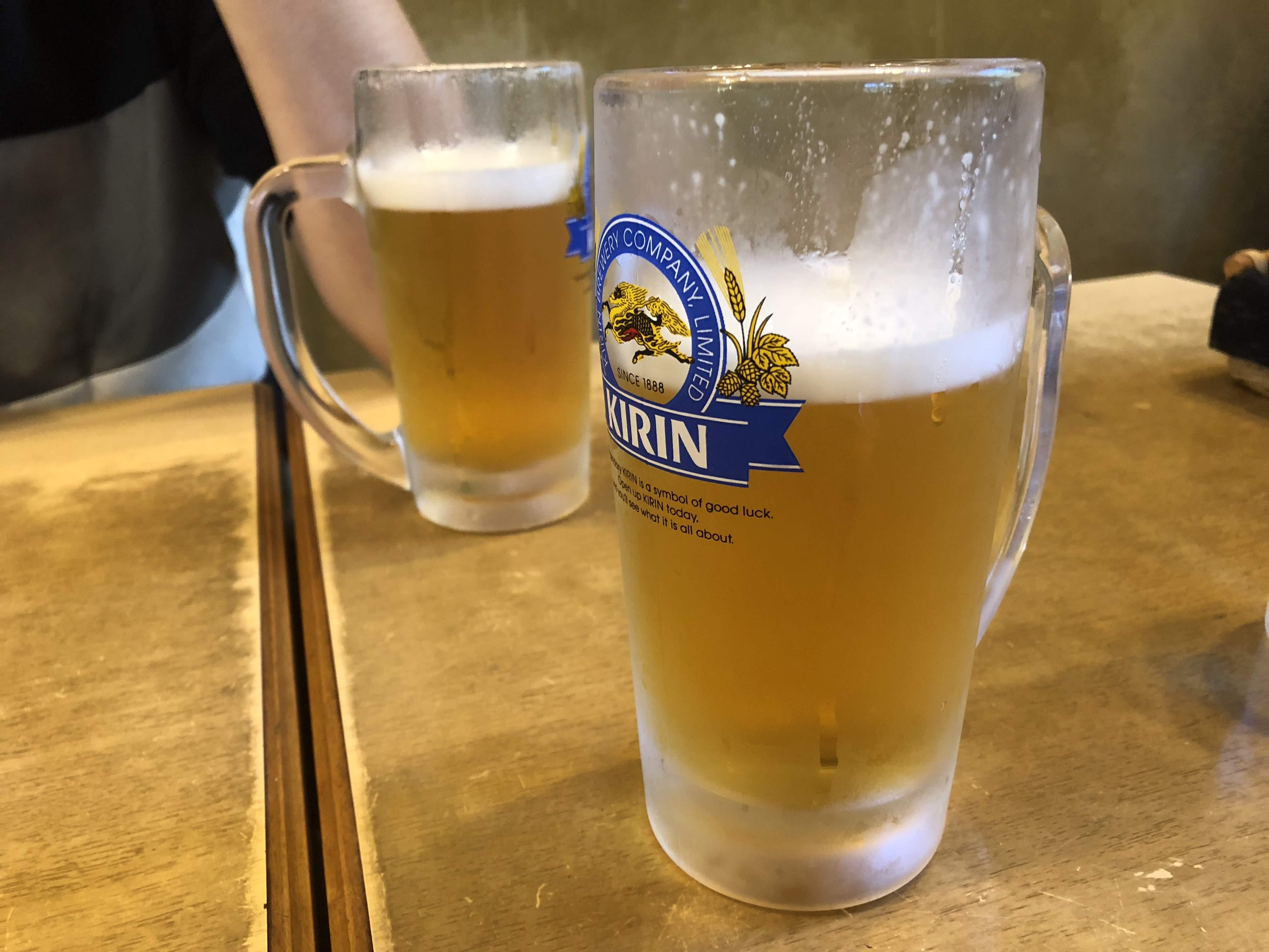 調布「深大寺」湧水で生ビール