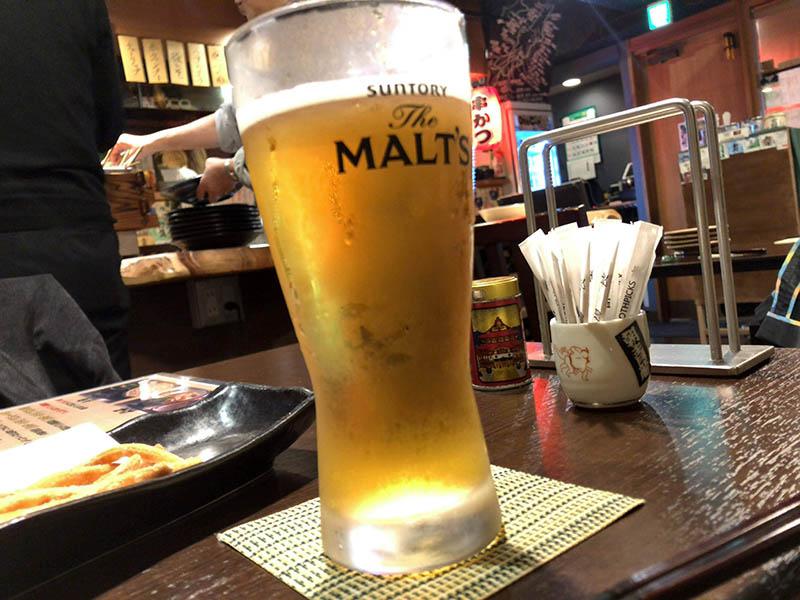 「とりあえずビール!」