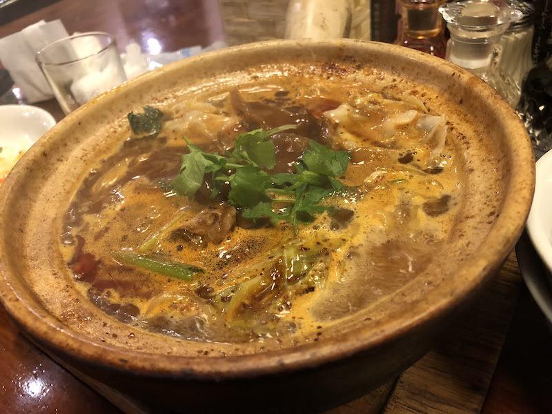 国領「麺飯坊 無双(めんはんぼう むそう)」牛肉麺
