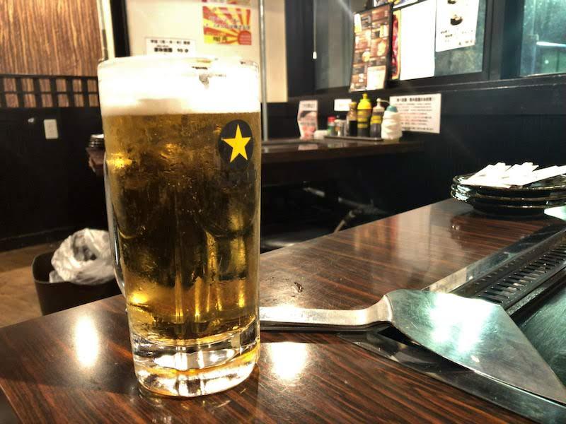 千歳烏山「かもくら」生ビール