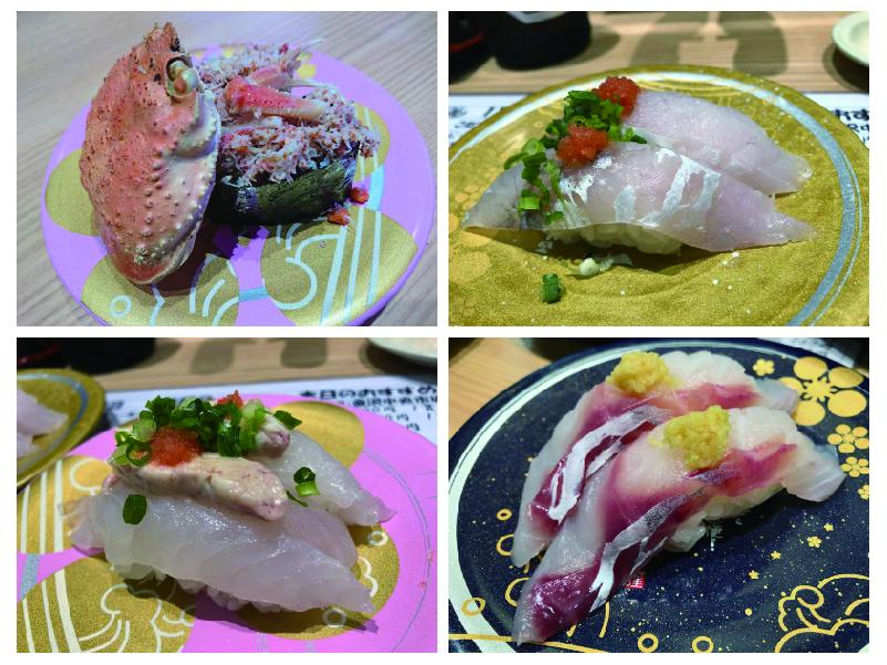 調布寿司祭り「もりもり寿し」カニ、他-100