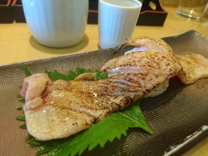 調布寿司祭り「すし三崎丸」本まぐろ祭り 炙り