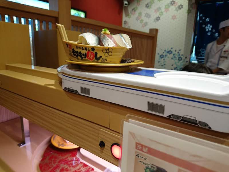 調布寿司祭り「もりもり寿し」新幹線