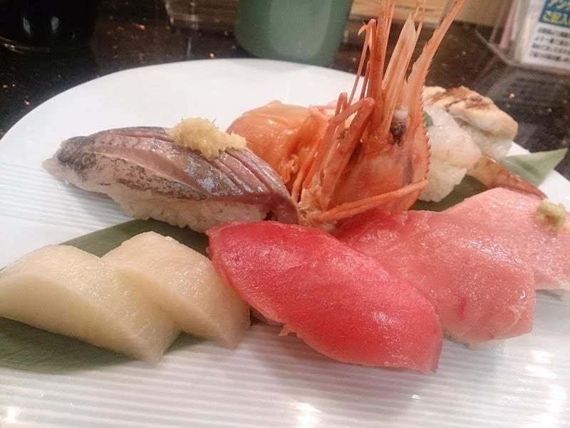 調布寿司祭り「すし銚子丸」旬の盛合せ