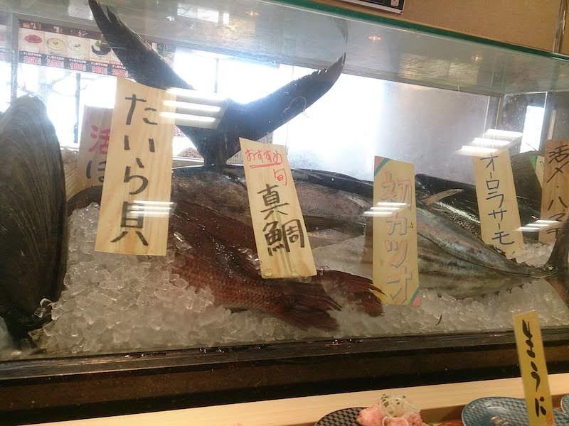 調布寿司祭り「すし銚子丸」ショーケース