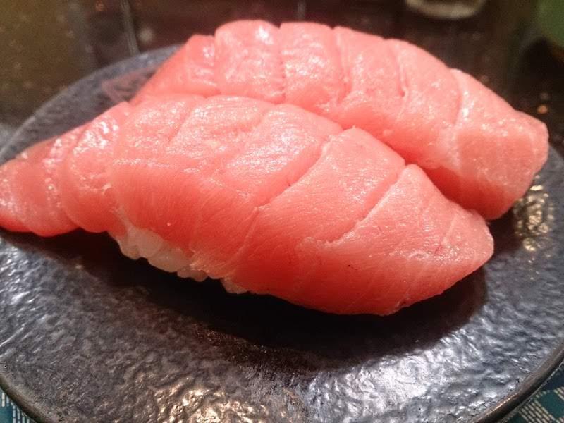 調布寿司祭り「すし銚子丸」まぐろ