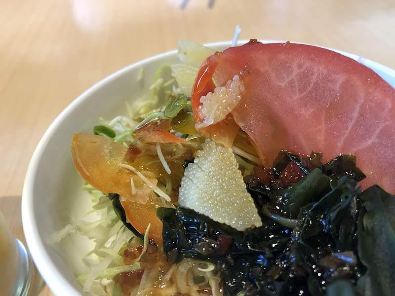 寿司祭り「すし海和(かいわ)」ランチサラダ