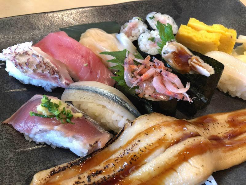 調布寿司祭り「すし三崎丸」季節の盛り合わせ(春)