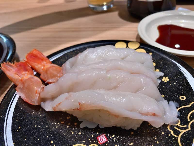 調布寿司祭り「もりもり寿し」大エビ