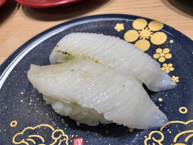 調布寿司祭り「もりもり寿し」えんがわの炙り