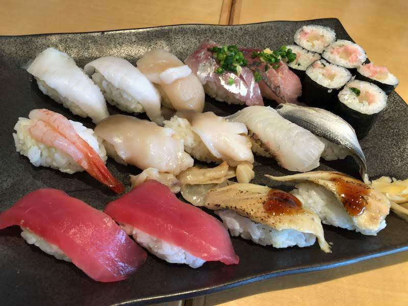 調布寿司祭り「すし三崎丸」お好み握り