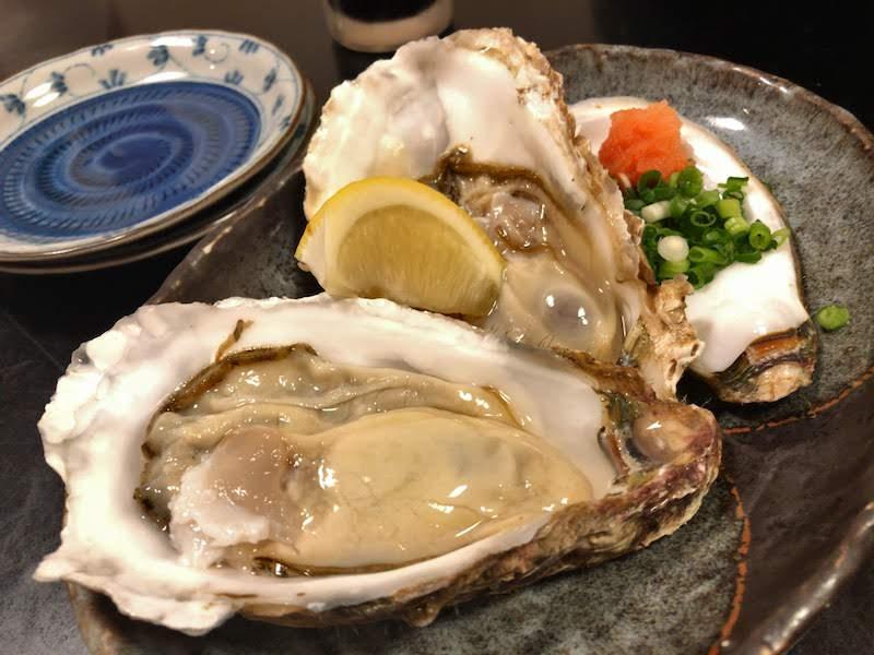 仙川「なみはな」生牡蠣