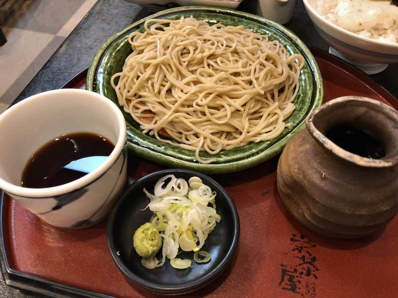 高尾山「栄茶屋」もり蕎麦