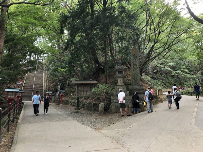 高尾山「1号路 登山」男坂・女坂